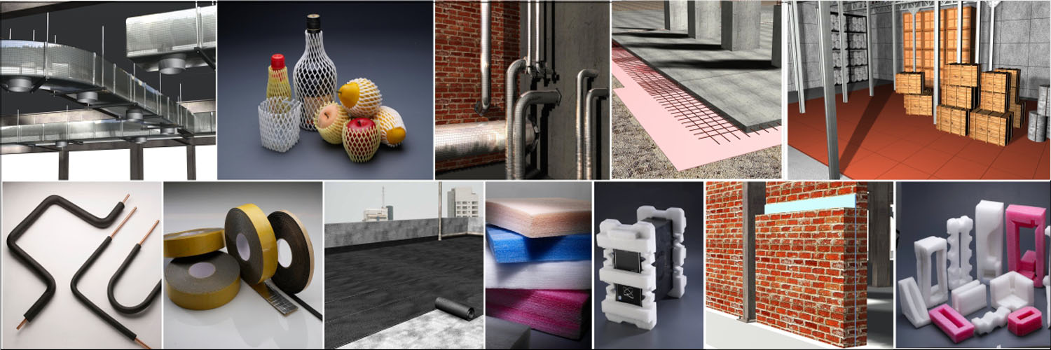 Insulation material , expansion joint, floor mat
